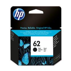 HP - Cartuccia originale inchiostro nero 62, Nero, HP, ENVY 5640 e-AiO, ENVY 7640 e-AiO, Officejet 5740 e-AiO, Getto termico d'inchiostro, Resa standard, 4 ml