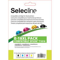 Selecline - Multipack cartucce compatibili Epson - E-18 XL