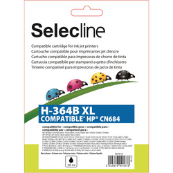 Selecline - Cartucce compatibili HP - H-364B XL NERO