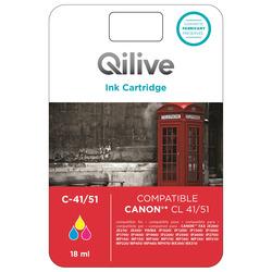 Qilive - Multipack cartucce compatibili Canon - C-41/51