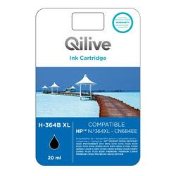Qilive - Cartucce compatibili HP - H-364B XL NERO