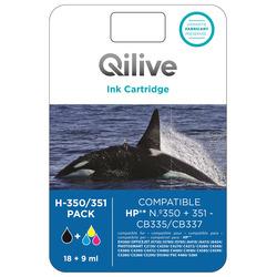 Qilive - Multipack cartucce compatibili HP - H-350/351