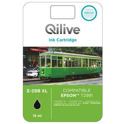 Qilive - E-29B XL, Nero, Epson, Expression Home XP-235, 322, 335, 432, 435, T2991, Ad inchiostro, Resa standard