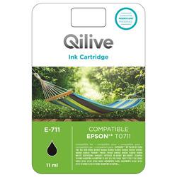 Qilive - Cartucce compatibili Epson - E-711 NERO