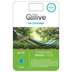 Qilive - Cartucce compatibili Epson - E-712 CIANO