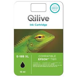 Qilive - Cartucce compatibili Epson - E-18B XL NERO