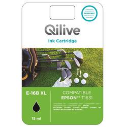 Qilive - Cartucce compatibili Epson - E-16B XL NERO