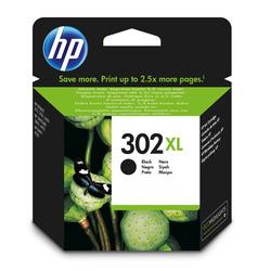 HP - Cartuccia originale inchiostro nero ad alta capacità 302XL, Nero, HP, Deskjet 1110, Deskjet 2130 AiO, Deskjet 2132 AiO, Deskjet 2134 AiO, Deskjet 3630 AiO, Officejet..., 302XL, Ad inchiostro, Resa elevata (XL)