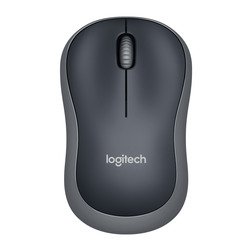 Logitech - Mouse Wireless Grigio M185