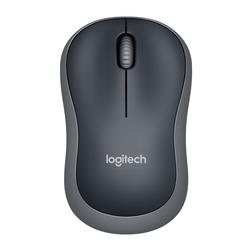 Logitech - LGT-M185G, Ambidestro, Ottico, RF Wireless, 1000 DPI, 75,2 g, Grigio