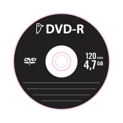 Auchan - BM)DVD-R 4.7GB16XSLEEVE POUCE