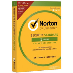 Symantec - Norton Security Standard 3.0, 1, Full license, Supporto fisico
