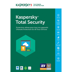 Kaspersky Lab - Total Security Multi-Device 2018, 2, 1 anno/i