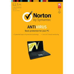 Symantec - Norton AntiVirus Basic, 1, 1 anno/i, Base license, Supporto fisico