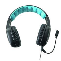 Qilive - Q.8832, Console di gioco + PC/giochi, Stereofonico, Padiglione auricolare, Nero, Blu, Pulsante, Metallo, Plastica