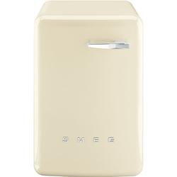 Smeg - Lavatrice carica frontale 7Kg Cl.A++ 1400 Giri/min LBB14CR Anni '50 Panna