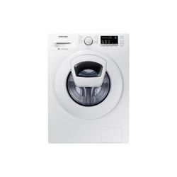 Samsung - WW90K4430YW, Libera installazione, Caricamento frontale, Bianco, Pulsanti, Manopola, Sinistra, LED