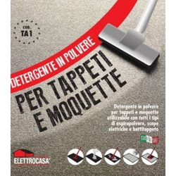 Elettrocasa - TA 1, Detersivo per tappeto, Polvere, Tappeto
