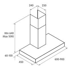 SOFIA H6 IX/A/60, 368 m³/h, Aspirante, F, g, E, 44 dB