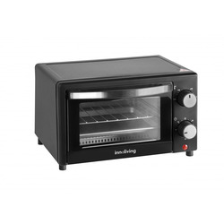 Innoliving - INN-734, 9 L, 650 W, Nero, Manopola, 100 - 230 °C, Meccanico
