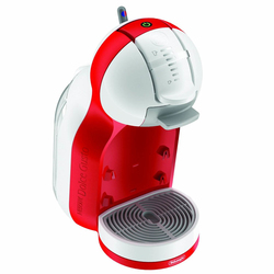 DeLonghi - EDG305.WR, Libera installazione, Macchina per caffè con capsule, 0,8 L, Capsule caffè, 1460 W, Rosso