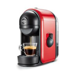 Lavazza - MINÙ, Libera installazione, Macchina per caffè con capsule, 0,5 L, Capsule caffè, 1250 W, Nero, Rosso