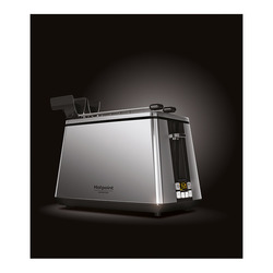 Hotpoint - TT 22E UP0, 2 fetta/e, Acciaio inossidabile, 0,21 L, 1 m, LED, 750 W