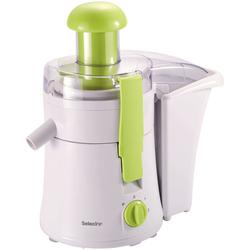 Selecline - BH-3392, Estrattore di succo, Verde, Bianco, 350 W