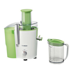 Bosch - MES25G0, Estrattore di succo, Verde, 2 L, 1,25 L, 7,3 cm, Acciaio inossidabile