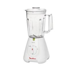 Moulinex - Faciclic , 1,5 L, Frullatore da tavolo, Bianco, Plastica