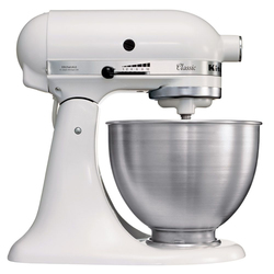 KitchenAid - K45SS EWH, 4,28 L, Bianco, 220 Giri/min, 250 W, 220 - 240, 225 mm
