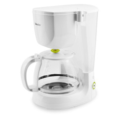 Selecline - CM1090-GS, Libera installazione, Macchina da caffè con filtro, 1,25 L, Caffè macinato, Bianco