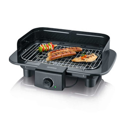 Severin - Barbecue Da tavolo Elettrico 2300W Nero PC9710