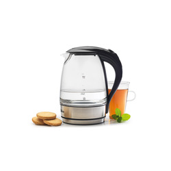 Qilive - Glass Kettle, 2200 W, 150 mm, 150 mm, 250 mm, 1,04 kg, 220 mm