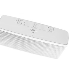 Qilive - Q.1385, 10 W, Senza fili, 2.1+EDR, 10 m, Altoparlante portatile stereo, Bianco