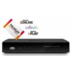 Telesystem - Decoder Digitale - TS8001T2 HEVC + Tessera Mediaset Premium