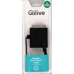 Qilive - Q.9909, SCART, SCART + 3.5mm, Maschio/Femmina, Nero