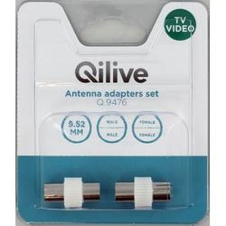 Qilive - Q.9476, Blister, 2 pezzo(i)