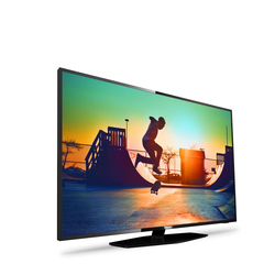 "Philips - 6000 series Smart TV LED ultra sottile 4K 43PUS6162/12, 109,2 cm (43""), 3840 x 2160 Pixel, LED, Smart TV, Wi-Fi, Nero"