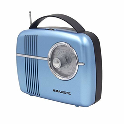 New Majestic - Radio portatile - RT188 Blu