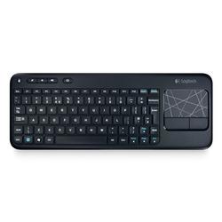 Logitech - K400, Standard, Senza fili, RF Wireless, QWERTY, Nero