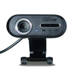Qilive - Q.8515, 1,3 MP, 640 x 480 Pixel, 480p, USB 2.0, Nero, Stand