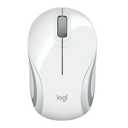 Logitech - Mini Mouse Wireless M187