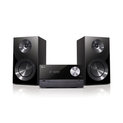 LG - CM2460, Microsistema audio per la casa, Nero, 100 W, 2-vie, 6 Ω, 80 dB