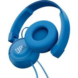 JBL - T450, Cablato, Padiglione auricolare, Stereofonico, Circumaurale, 20 - 20000 Hz, Blu