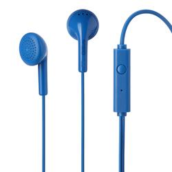 Qilive - Q1666, Cablato, Auricolare, Stereofonico, Intraurale, 110 dB, Blu