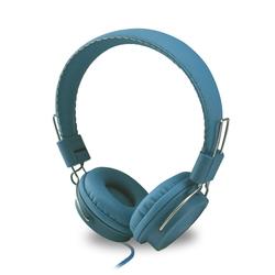 Qilive - Q1296, Cablato, Padiglione auricolare, Stereofonico, Circumaurale, 20 - 20000 Hz, Blu