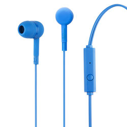 Qilive - Q.1849, Cablato, Auricolare, Stereofonico, Intraurale, 20 - 20000 Hz, Blu