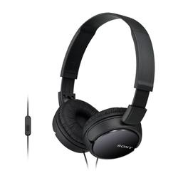 Sony - MDR-ZX110AP, Cablato, Padiglione auricolare, Stereofonico, Circumaurale, 12 - 22000 Hz, Nero