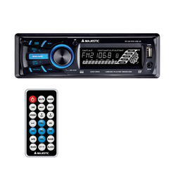 New Majestic - New Majestic SD-245, FM,PLL, Nero, SD, 120 W, MP3